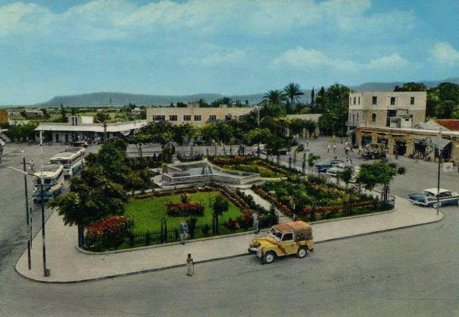 وسط مدينة أريحا قبل أكثر من 50 عام